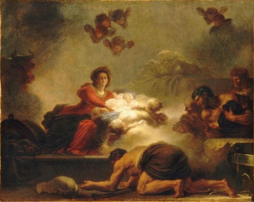 Le Verrou et l'adoration des bergers