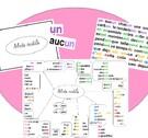 Affiche des mots outils