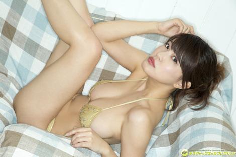 WEB Gravure : ( [DGC] - | 2016.08 | Asuka Kishi/岸明日香 : バスト90★Gカップのゴージャスガール! )