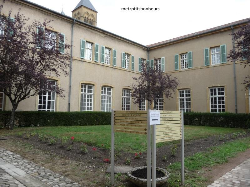 Lycée Fabert à Metz..
