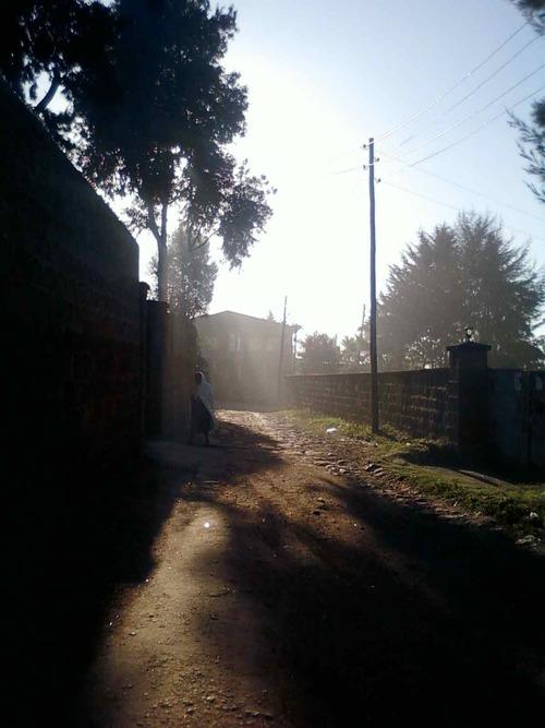 petit matin à Addis