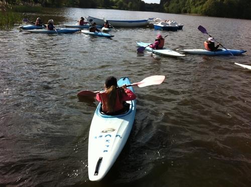 Canoë-kayak : séance du 24 avril