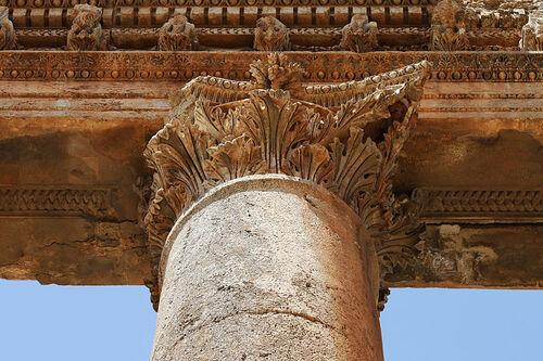 Patrimoine mondial de l'Unesco : Baalbek - Liban -