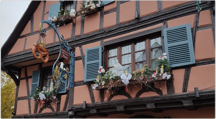 Eguisheim nous voilà....