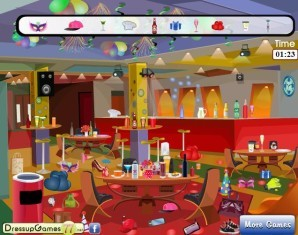 Busy teen party