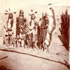 He That Stinks, Bobtail Bull, Yellow Wolf, and Sitting Bear. Arikara. ca. 1870.by Stanley J. Morrow.