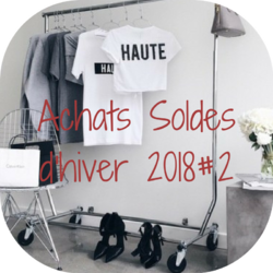 Achats soldes d'hiver 2018 #2