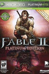 Fable II est un jeu de rôle sur Xbox 360. Se déroulant 500 ans après le premier Fable, le titre offre au joueur la possibilité de se balader dans un royaume immense et complexe. L'aventurier peut y entreprendre des quêtes pour la gloire, la justice, l'argent ou simplement pour étancher sa soif de sang. Vos choix sont libres, mais prenez garde car la moindre décision, même anodine, peut affecter le royaume d'Albion dans son ensemble. Fable II vous propose en plus de partager l'aventure à deux.  -----  Editeur(s) / Développeur(s) : Microsoft | Lionhead Sortie France : 24 Octobre 2008 Genre(s) : Action | RPG Classification : +16 ans