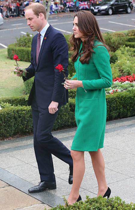 Kate et William à Waikato's Hamilton