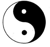 yin yang bébé contraire