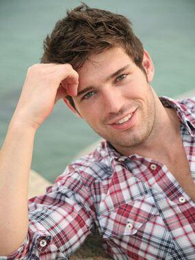 Bo Roberts, model, actor