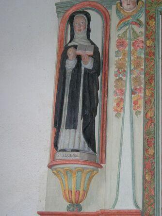 Statue de Sainte Eugénie