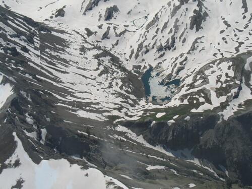 Le lac de l'encombrette (Allos)
