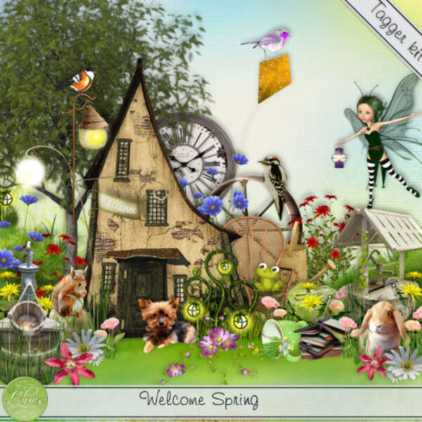 Kit Welcome Spring de Louise