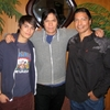Gil Birmingham (Billy Black), Chaske Spencer (Sam Uley) et K