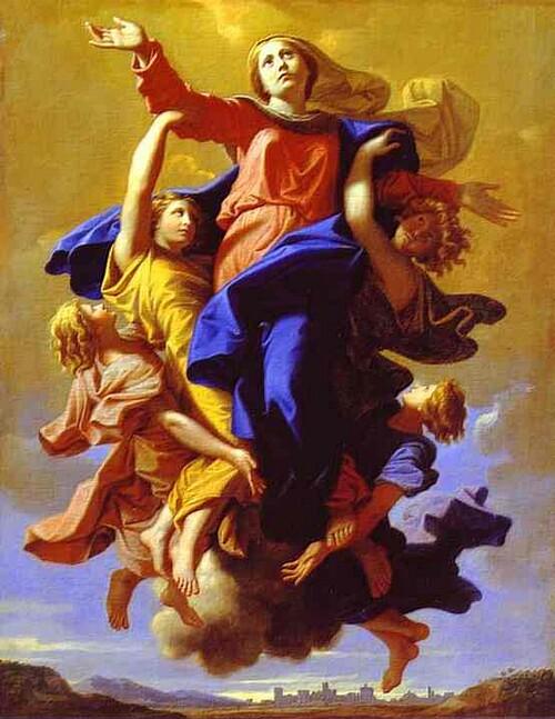 L'acceptation de la Vierge. 1650