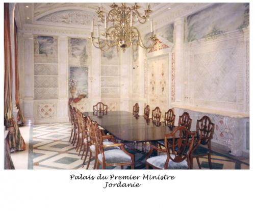 Jordanie, palais