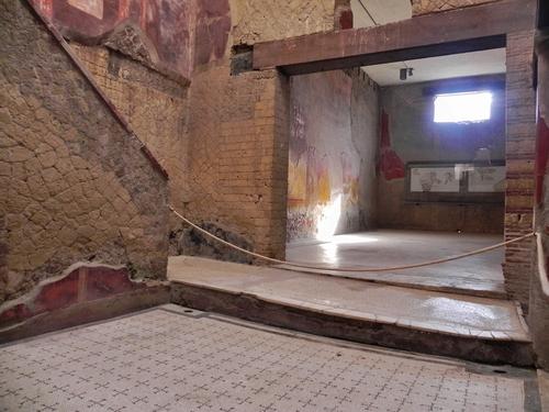 Quelques fresques d'Herculanum (photos)