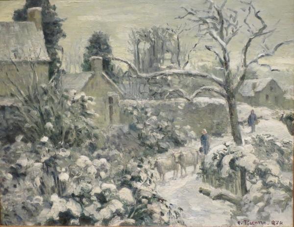 Dimanche - Bonne année avec Camille Pissarro