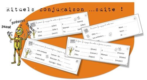 Conjugaison: ex  journaliers de systématisation-CE1