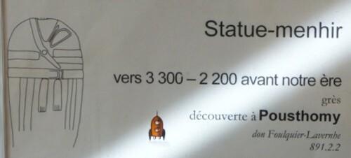 statue-menhir de Pousthomy Rodez 2