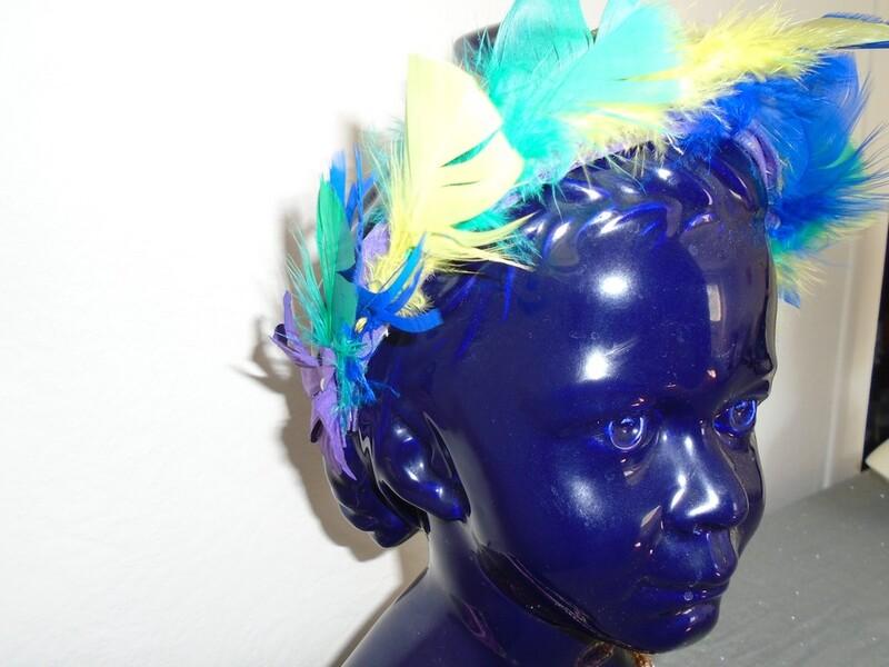 Headband avec plumes