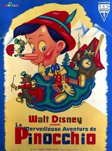 PINOCCHIO BOX OFFICE FRANCE 1946
