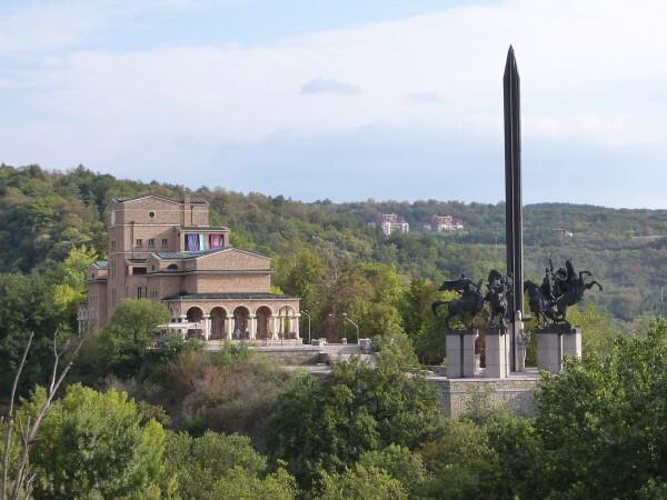 Jour 12 - Veliko Tarnovo - Monument des deux frères Assen