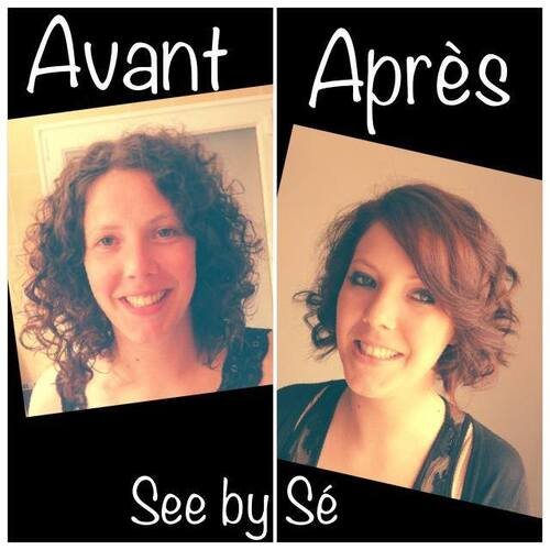 Relooking Avant/Après: Emilie