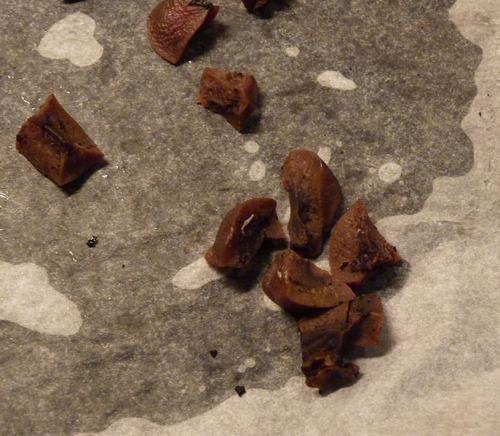 Friandises maison - les rognons