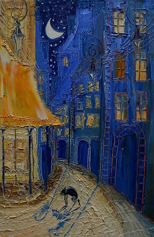 Peinture de : Justyna  Kopania