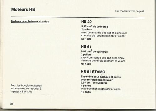 Moteur HB-15 de Graupner