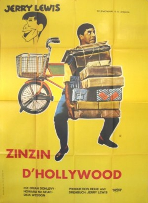 LE ZINZIN D'HOLLYWOOD - BOX OFFICE JERRY LEWIS 1963