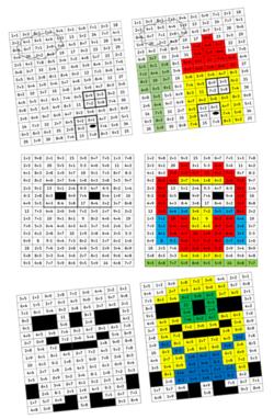 PixArt des additions (jeu pour CP)