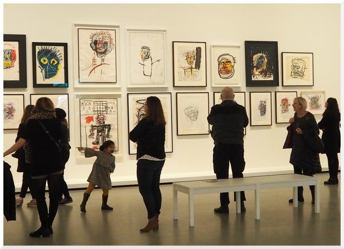 Exposition. Jean Michel Basquiat. Paris