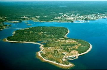 L'île d'Oak ...
