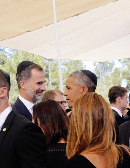 Felipe et B.Obama