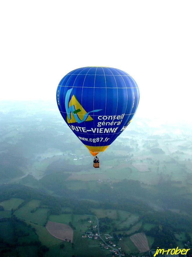 Limousin :  Vol en Montgolfière, de la randonnée à l'ascension dans les airs (2)