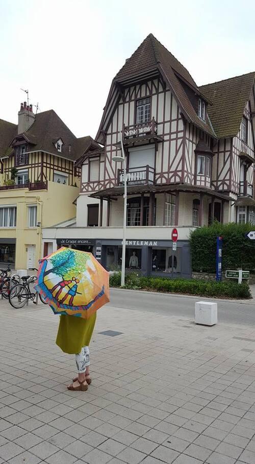 Parapluie au Touquet...