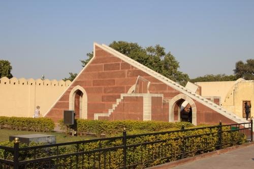 L'observatoire de Jaipur, le Yantra Mandir