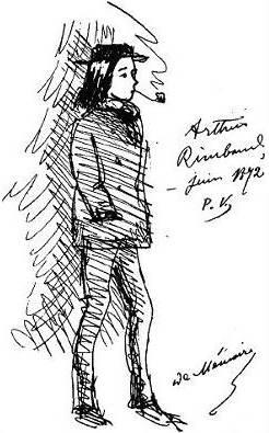 Rimbaud vu par Verlaine