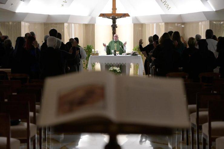 Sainte-Marthe 11/01/2018 © L'Osservatore Romano