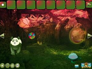 Jouer à Giant panda forest escape