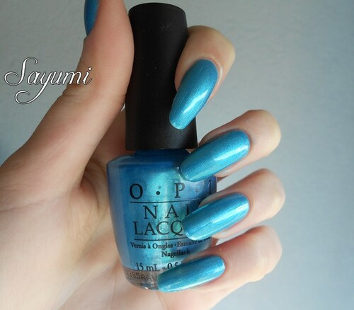 OPI - Teal The Cows Come Home