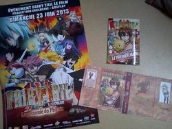 Fairy Tail - la prêtresse du phoenix - évènement - les goodies