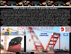 CHINE: leaders mondiaux de la grue fixe maritime (...).