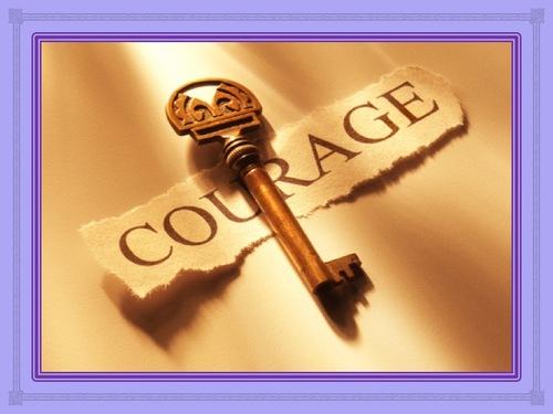 Prenez courage