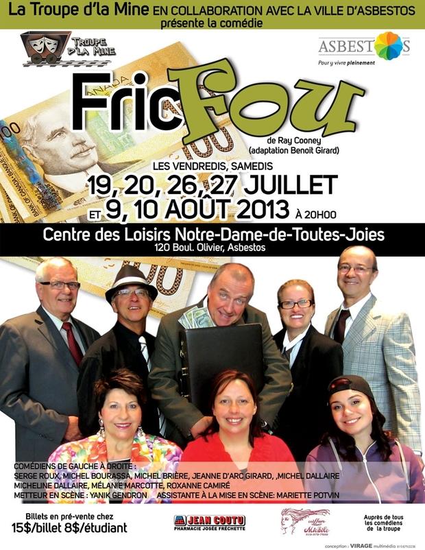 FRIC FOU - ÉTÉ 2013