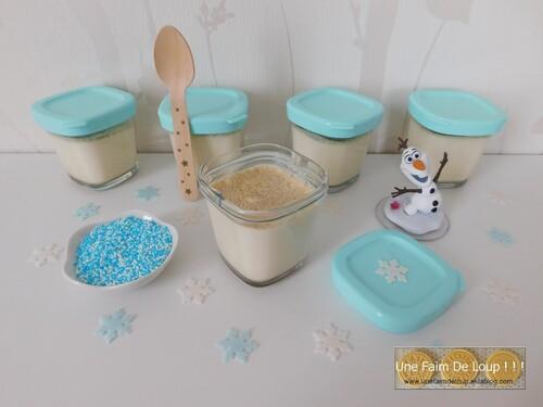 Yaourts des neiges à la vanille (Seb Multi Délices)