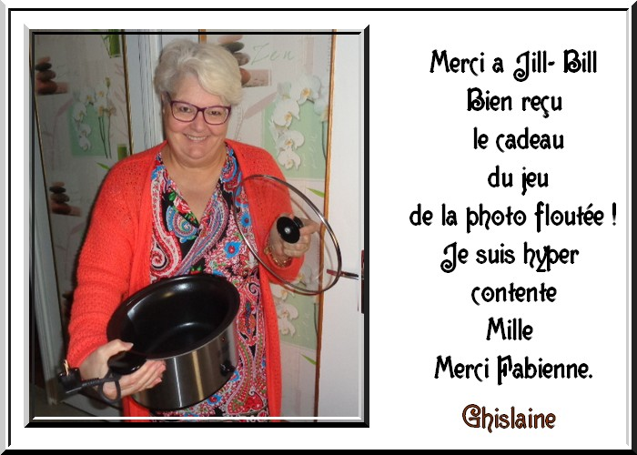 MERCI JILL BILL.